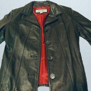 Vintage Black Wilsons Leather Jacket